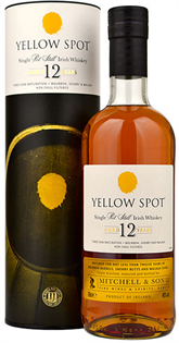 Yellow Spot Irish Whiskey Pot Still 12 Year 750ml